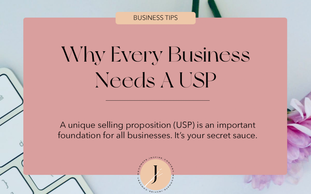JOUHCO - Business Tips - Why Every Business Needs A USP