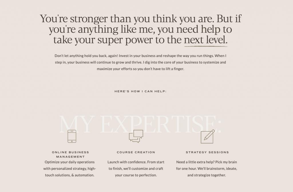 JOUHCO - Alexandra Myllaeri - Services Except