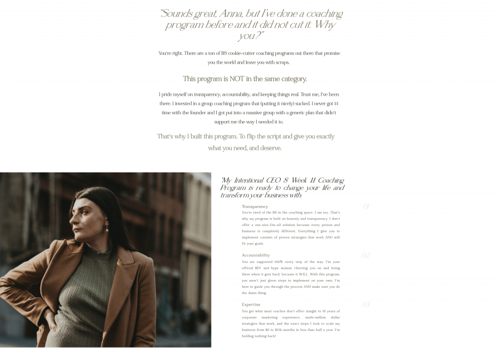 The AW Creative - Sales Page - Excerpt 3