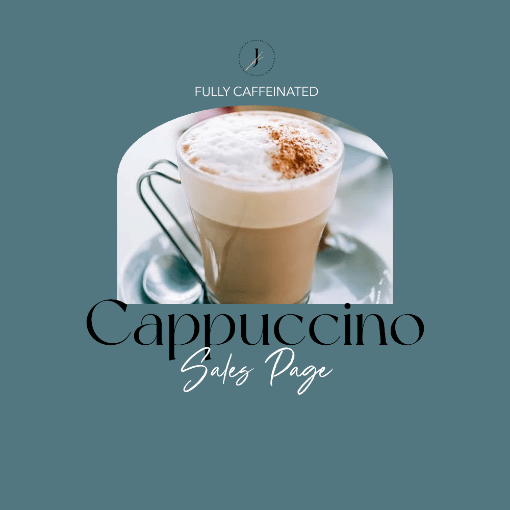 JOUHCO - Services - Cappuccino - Sales Page