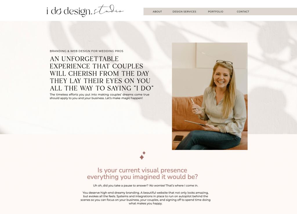 I Do Design Studio - Services Page - Excerpt