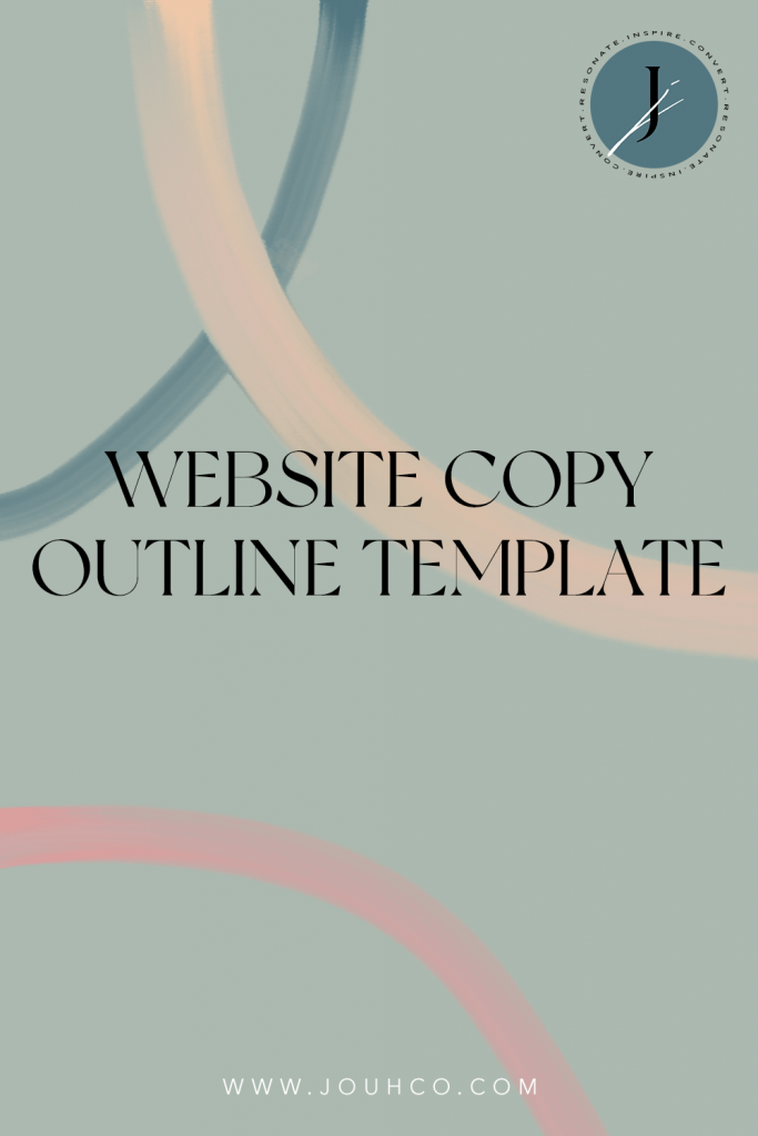 JOUHCO Website Copy Outline Template_c